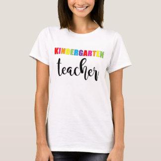 Kindergarten Teacher Rainbow Shirt