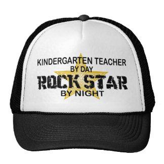 Kindergarten Teacher Rock Star Trucker Hat