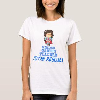 Kindergarten Teacher, Super Hero Teacher T-Shirt