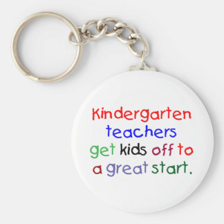 Kindergarten Teachers Keychain