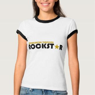 Kindergarten Teaching Rockstar T-Shirt