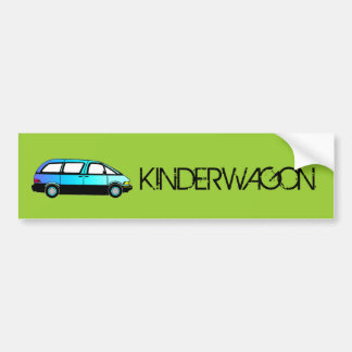 KINDERWAGON Bumper Sticker
