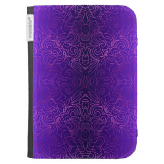 Kindle Folio Floral Abstract Damasks Kindle 3G Covers