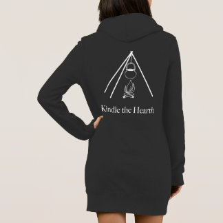 Kindle the Hearth hoodie dress