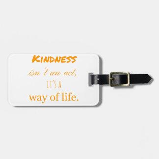Kindness Bag Tag