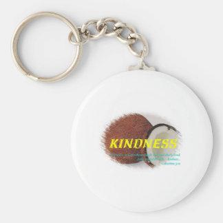 Kindness Basic Round Button Keychain