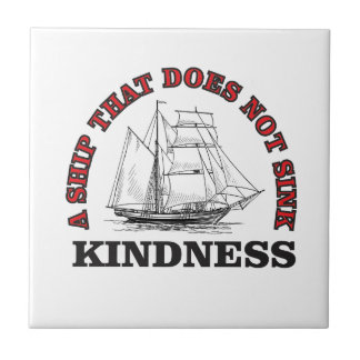 kindness boat tiles