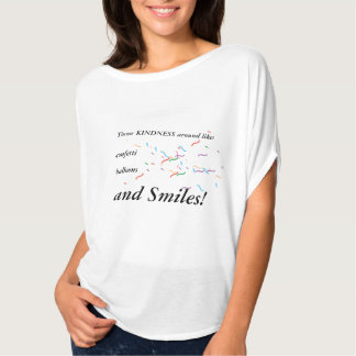 Kindness, Confetti, Balloons, and Smiles Shirt
