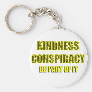 kindness conspiracy keychain