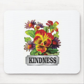 kindness flowers mouse pad