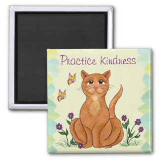Kindness Kitty - Fridge Magnet