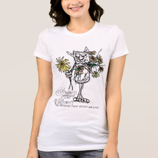 Kindness like Wildflowers T-Shirt