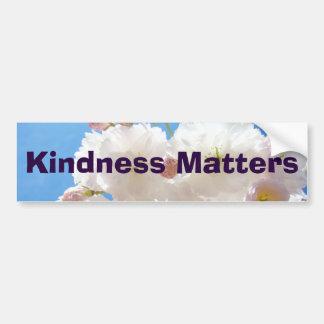 Kindness Matters bumper stickers Kind inspiration