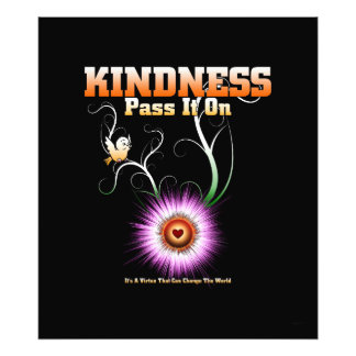 KINDNESS - Pass It On Photo Print