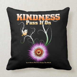 KINDNESS - Pass It On Throw Blanket Throw Pillow