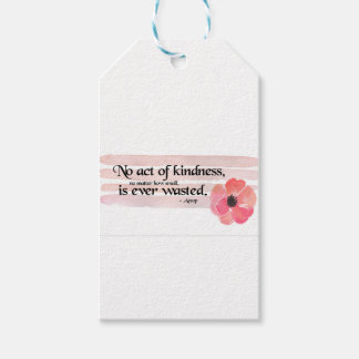Kindness Pink Gift Tags