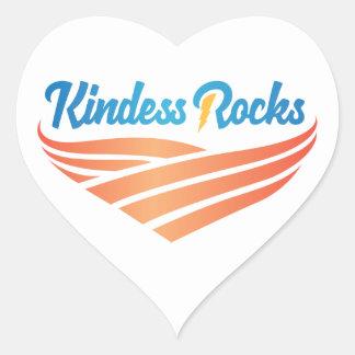 Kindness Rocks Heart Sticker