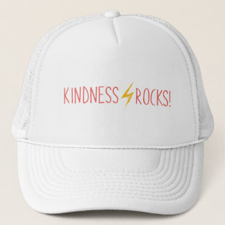Kindness Rocks White Hat