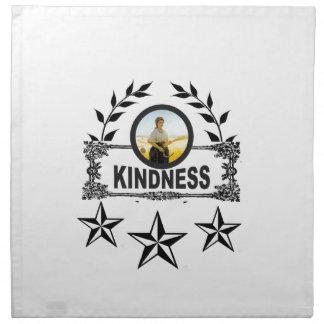 kindness stars napkin