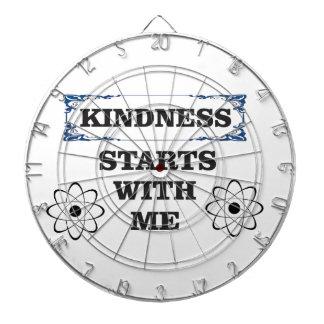 kindness starts with me dartboard