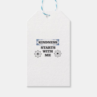 kindness starts with me gift tags