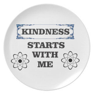 kindness starts with me plate