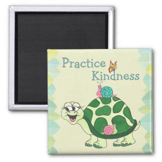 Kindness Turtle and Snails - Fridge Magnet