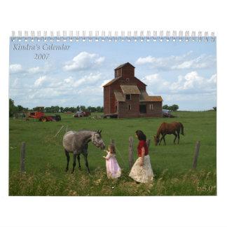 Kindra's Calendar 2007