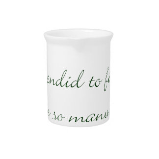 Kindred Spirits Are Not Scarce Drink Pitcher