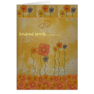 Kindred Spirits Just Because Card