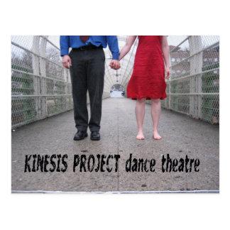 Kinesis Project dance theatre Postcard