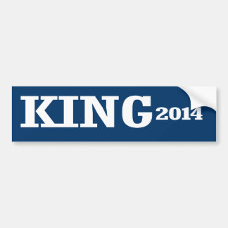 KING 2014 BUMPER STICKERS