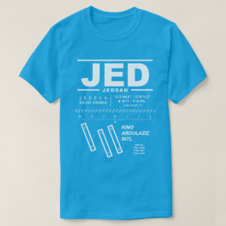 King Abdulaziz International Airport JED Tee Shirt