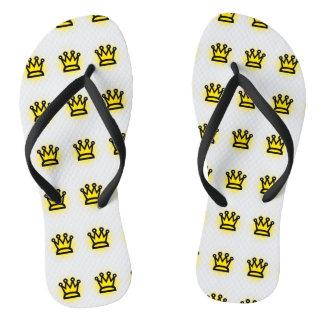 King Adult, Slim Strap Flip Flops