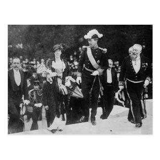 King Albert & Queen Elizabeth Ghent expo 1913 Postcard