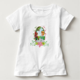 King and Queen Baby Romper