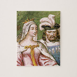king and queen couple jigsaw puzzle