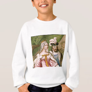 king and queen couple sweatshirt