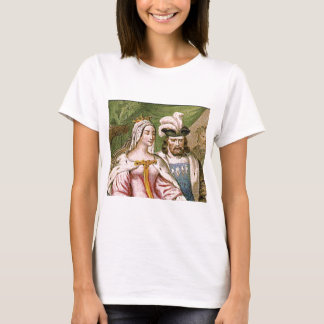 king and queen couple T-Shirt