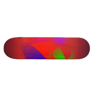 King and Queen of Brown Skate Deck