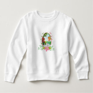 King and Queen Toddler Fleece Sweatshirt