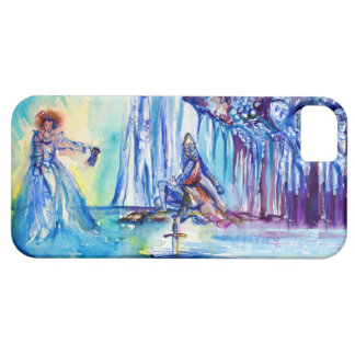 KING ARTHUR ,LADY OF THE LAKE AND EXCALIBUR iPhone 5 COVER