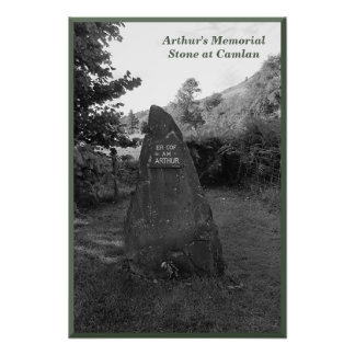 King Arthur's Memorial Stone at Camlan Photo Art