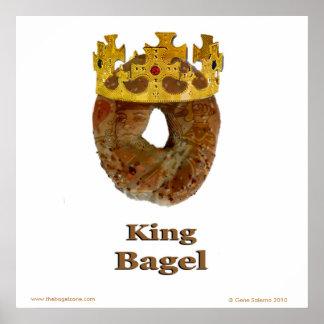 King Bagel Poster