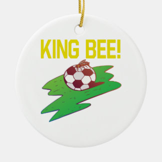 King Bee Ceramic Ornament