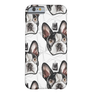 King Boston Terrier Barely There iPhone 6 Case