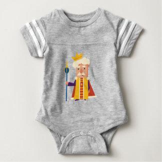 King Cartoon character Baby Bodysuit