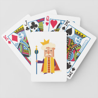 King Cartoon character Bicycle Playing Cards