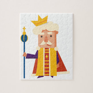 King Cartoon character Jigsaw Puzzle