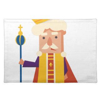 King Cartoon character Placemat